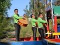 Dzięki Mariachi na Xochimilco można poczuć klimat meksykańskiej fety.